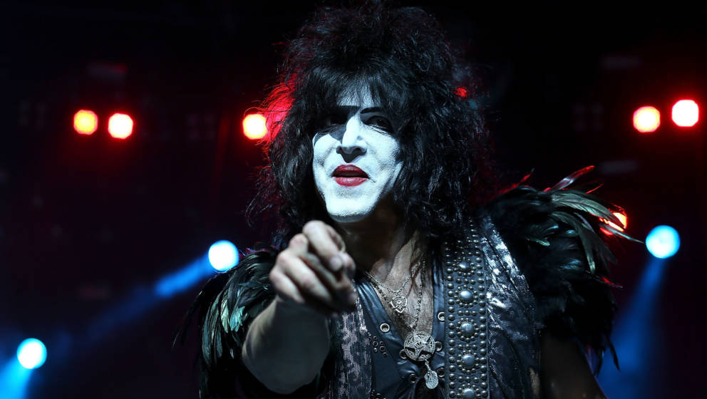 PERTH, AUSTRALIA - FEBRUARY 28:  Paul Stanley of KISS performs live on stage as part of their Monster Tour with Motley Crue a