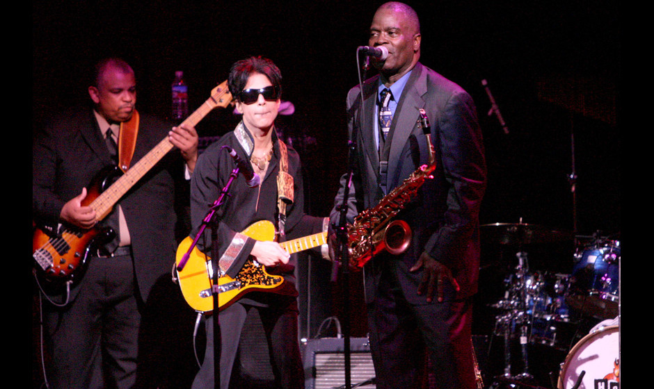Prince with Maceo Parker Band during Vegoose Music Festival 2006 - Night 2 - Maceo Parker with Special Guest Prince at House