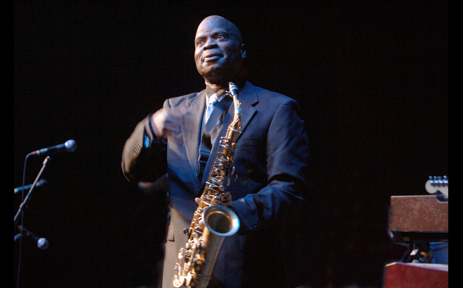 DENMARK - JULY 12:  Photo of Maceo PARKER; performing live onstage at Jazz Festival,  (Photo by Jan Persson/Redferns)