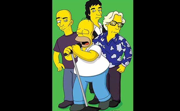 R.E.M. bei den Simpsons