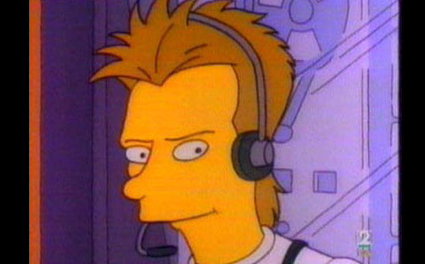 Sting bei den Simpsons