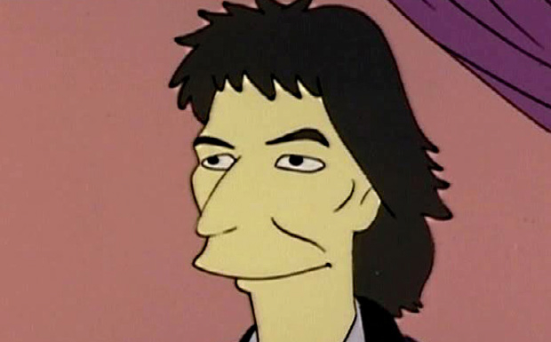 George Harrison bei den Simpsons