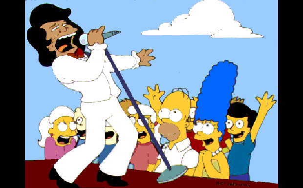 James Brown bei den Simpsons
