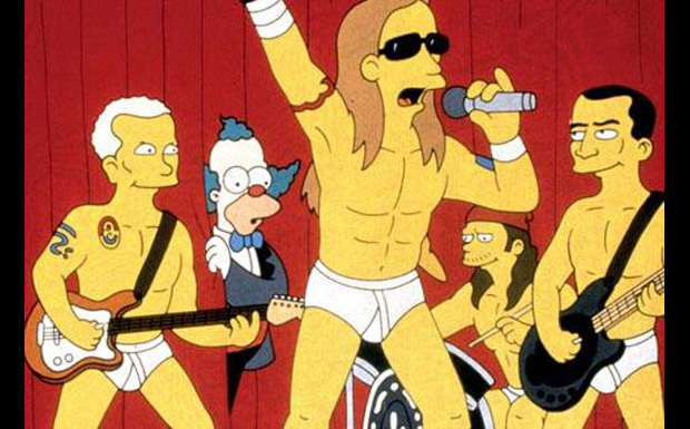 Red Hot Chili Peppers bei den Simpsons