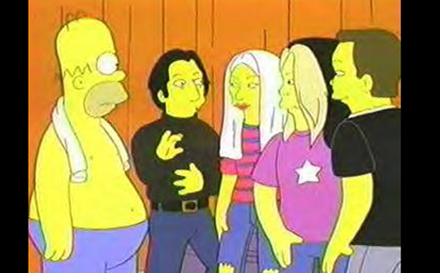 The Smashing Pumpkins bei den Simpsons