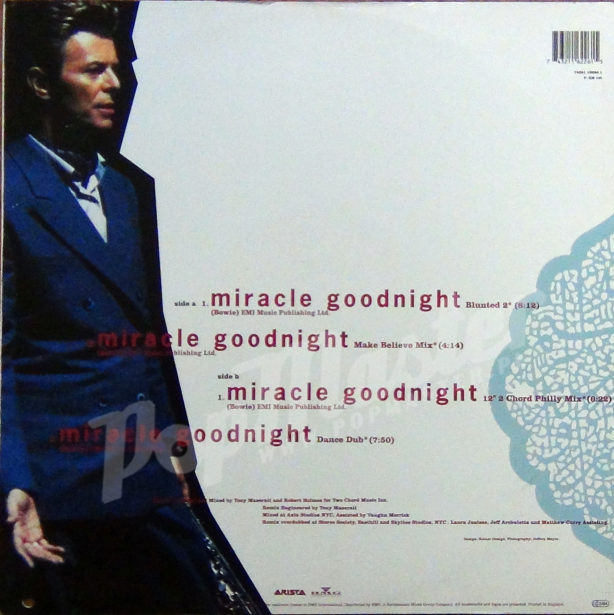 65. Miracle Goodnight.  Das gesamte Album war der frisch angetrauten Iman gewidmet. Diese Single, ein herrliches Gebräu aus