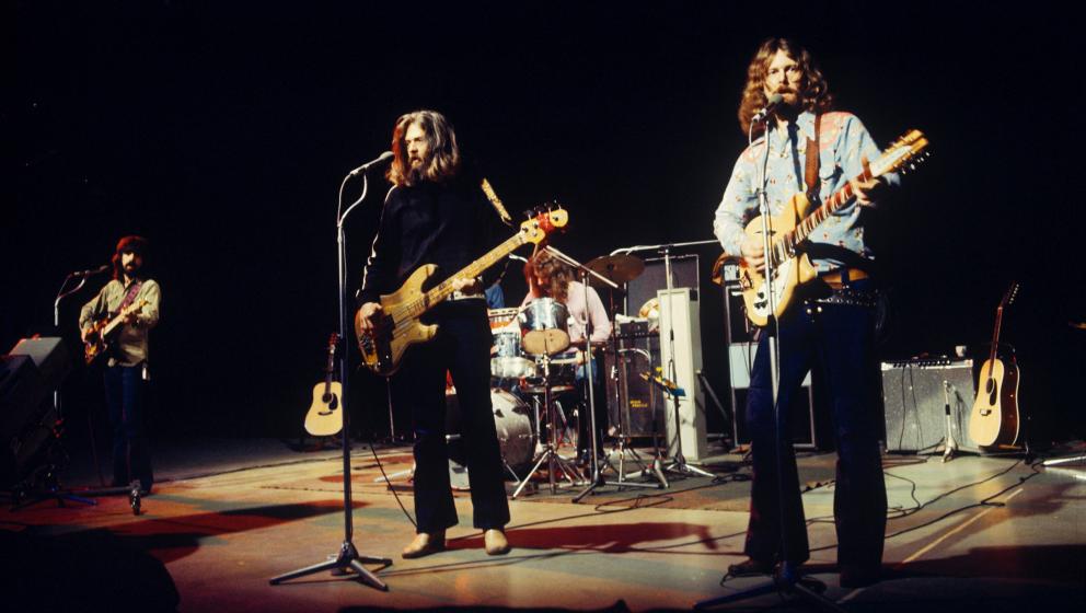 52. Clarence White. This Wheel's On Fire – The Byrds, 1969. So schwer wie auf diesem Dylan-Cover waren die Byrds nie wied