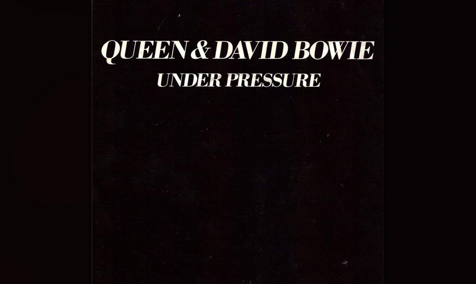 45. Queen & David Bowie: 'Under Pressure'.   Bowie hat mit Tina Turner, John Lennon, Cher und vielen anderen gesungen, dennoc