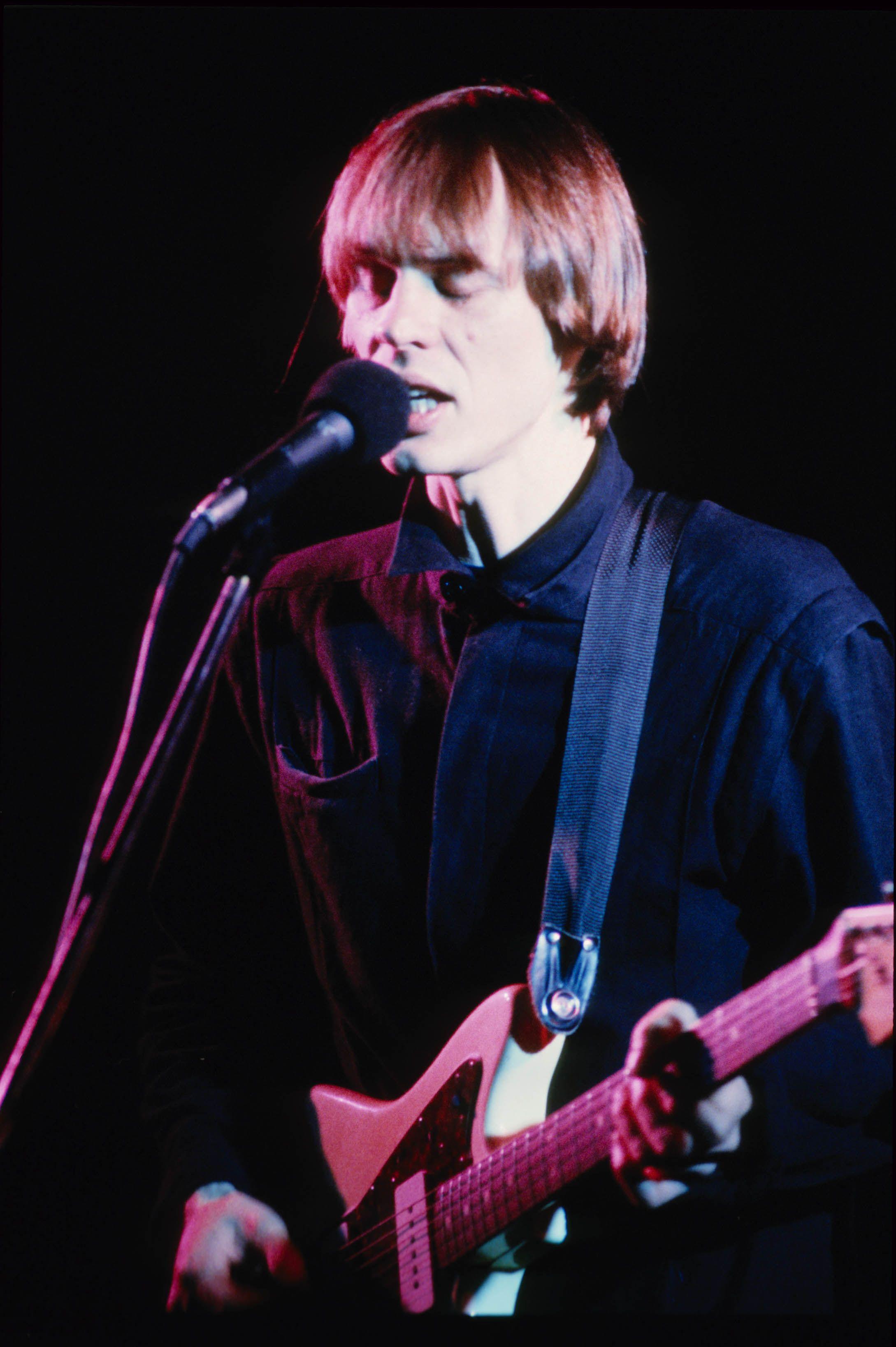 Tom Verlaine live in den 80er Jahren