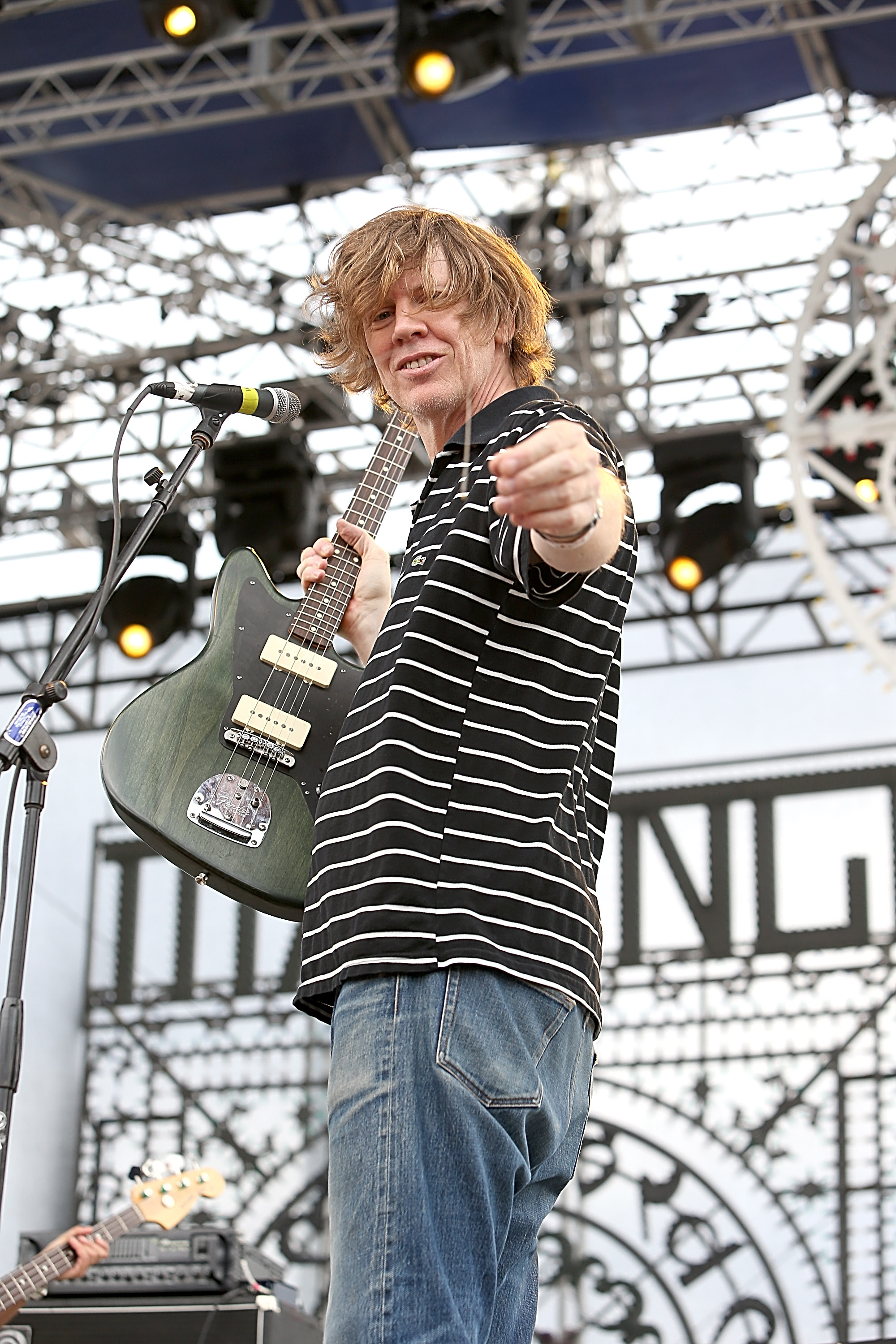 AUSTIN, TX - NOVEMBER 09:  Thurston Moore of Chelsea Light Moving performs during Fun Fun Fun Fest at Auditorium Shores on No