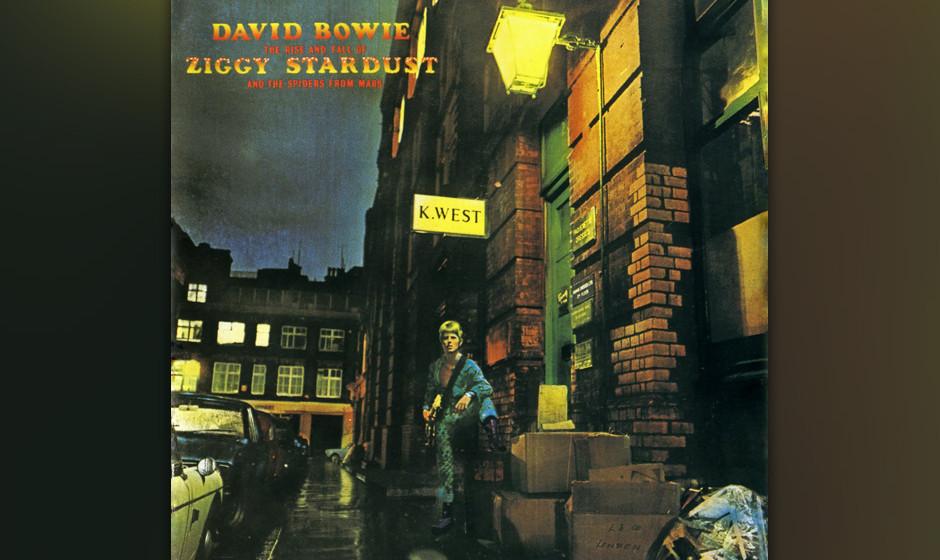 """16. Five Years.   Noch mehr """"Ziggy Stardust"""". Der Startsong des Albums. Fünf Jahre hat sie noch, die gute, alte Erde. Da"""