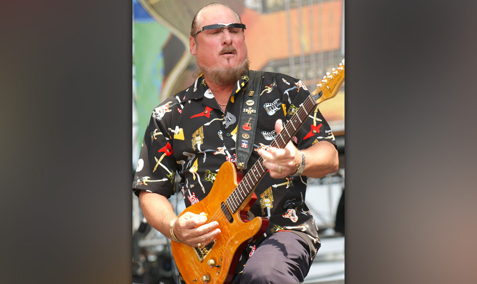 Steve Cropper during Crossroads Guitar Festival - Day Three at Cotton Bowl Stadium in Dallas, Texas, United States. (Photo by