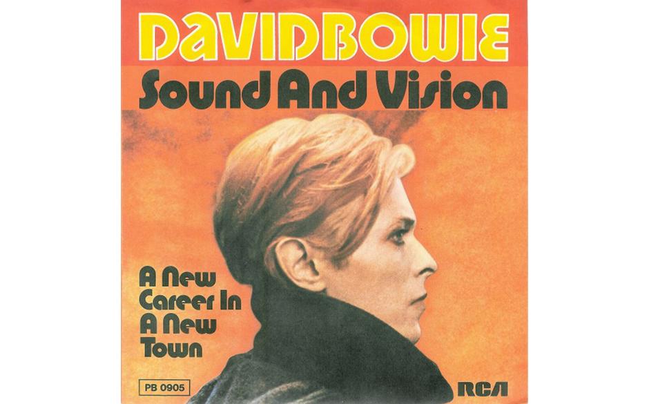 19. Sound And Vision.  Ursprünglich als von einem simplen Gitarrenriff und einem minimalistischen Synthesizer getragenes Ins