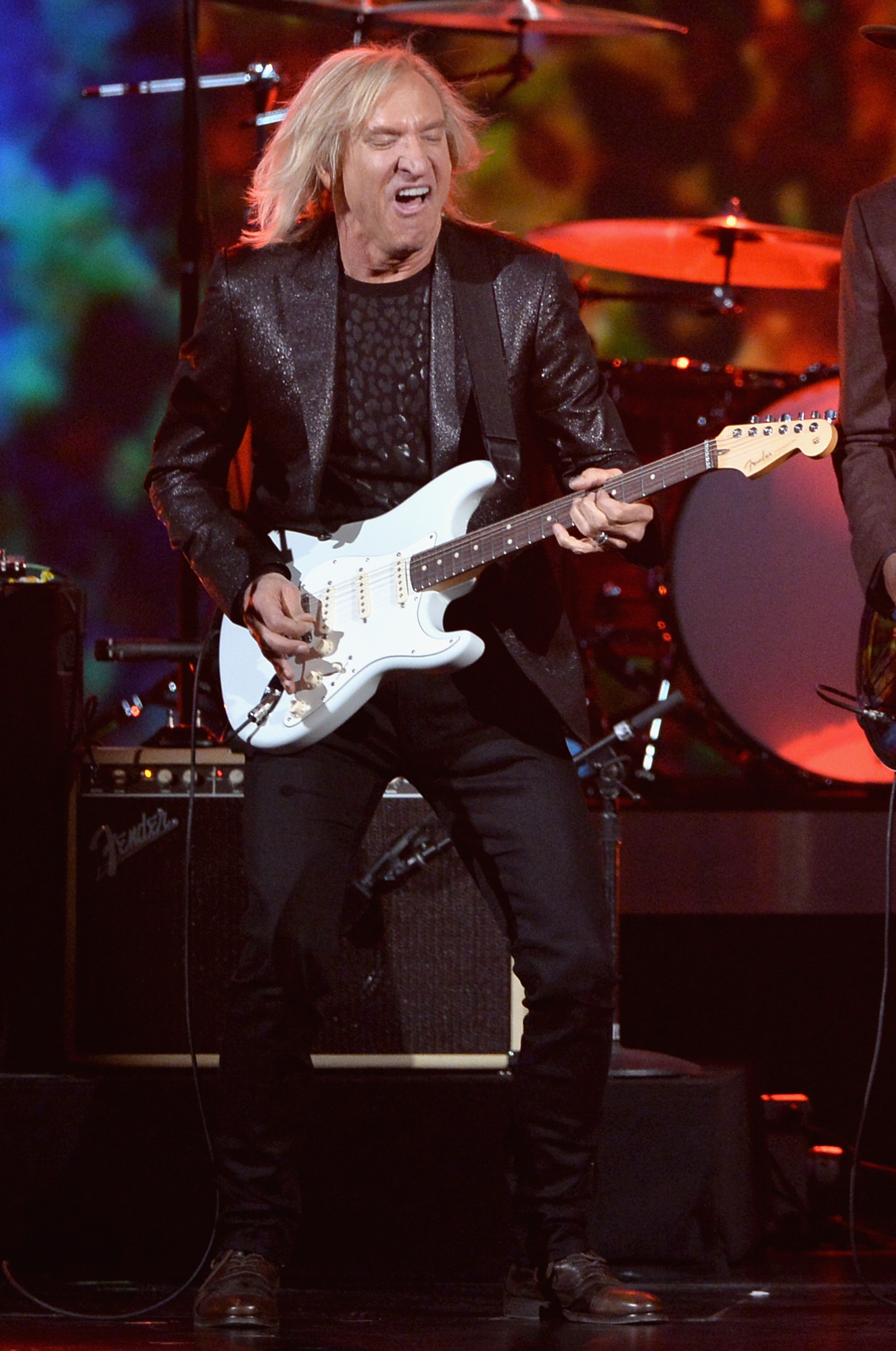 LOS ANGELES, CA - JANUARY 27:  Musician Joe Walsh performs onstage during 'The Night That Changed America: A GRAMMY Salute To