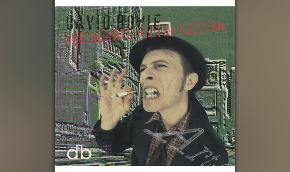 "32. The Heart's Filthy Lesson.   Die erste Single seines 1995er Albums ""Outside"" ist der aufregendste Song, den Bowie in"