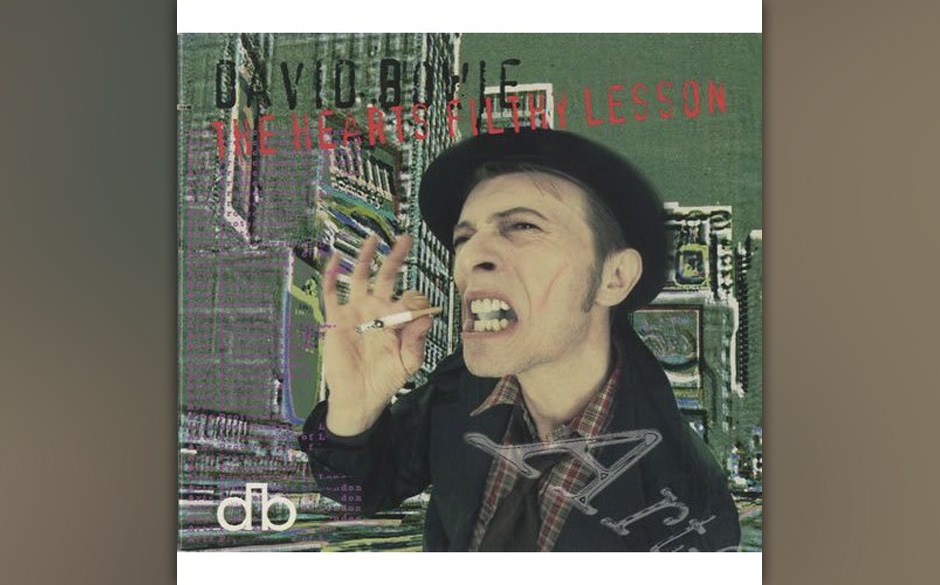 "32. The Heart's Filthy Lesson.   Die erste Single seines 1995er Albums ""Outside"" ist der aufregendste Song, den Bowie in"
