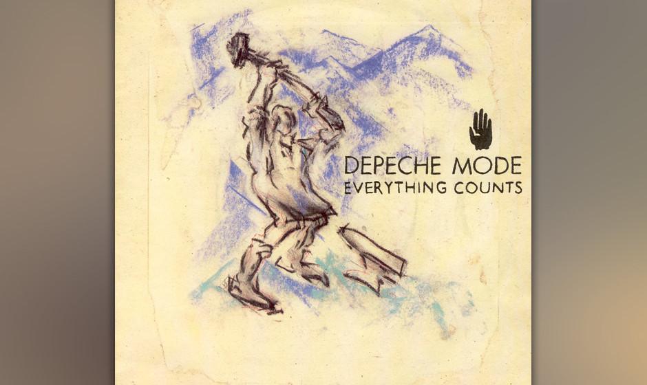 5. Everything Counts. Ein Song über Gier und Korruption, den Dave Gahan und Martin Gore gemeinsam singen. Der Leadsänger Ga