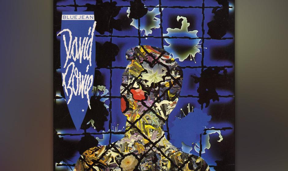 """30. Blue Jean.   Auf """"Tonight"""" zeigte sich die aufpolierte Künstlichkeit des 80er-Jahre-Bowie ein letztes Mal von der gu"""