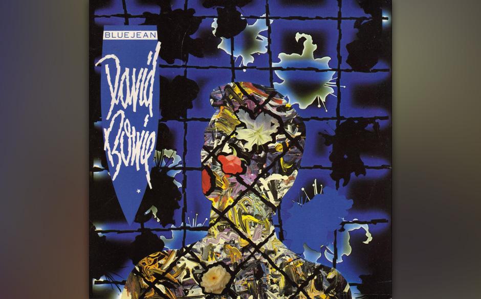 """31. Blue Jean.   Auf """"Tonight"""" zeigte sich die aufpolierte Künstlichkeit des 80er-Jahre-Bowie ein letztes Mal von der gu"""