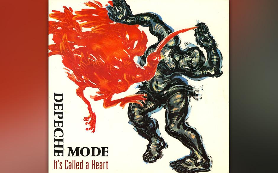 23. It's Called A Heart. Der Song schaffte es nur als Zugabe auf die 'Singles 81 - 85'-Compilation - und wird von Martin Gore