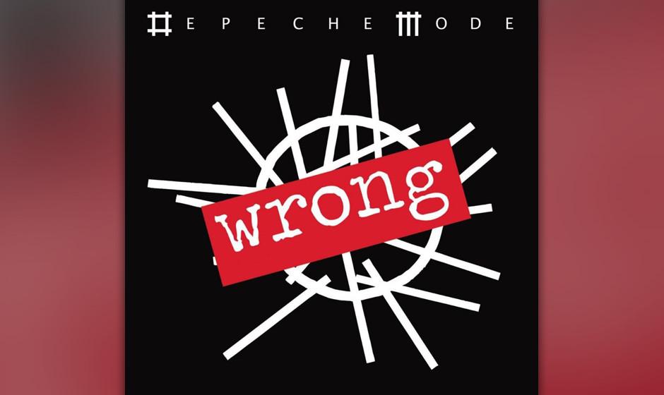 31. Wrong. Nachdem Depeche Mode in den vergangenen Jahren doch ein wenig sehr elegisch geworden waren, hatte diese Vorabsingl