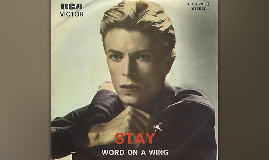 04. Stay.  Ein Disco-Song, ein Rock-Song, ein Funk-Song, eine Bestie. Nichts auf 'Station To Station' bereitet auf diesen Aus