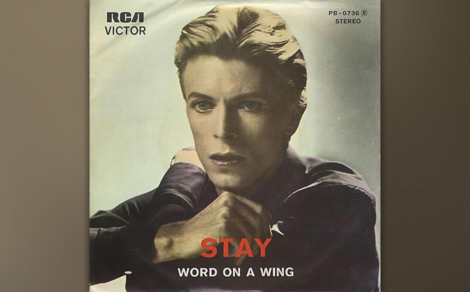 4. Stay.  Ein Disco-Song, ein Rock-Song, ein Funk-Song, eine Bestie. Nichts auf 'Station To Station' bereitet auf diesen Ausb