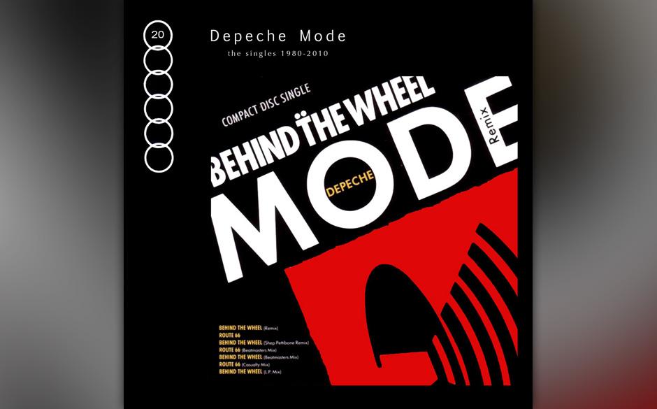 15. Behind The Wheel. Der Single-Remix mit Shep Pettibones Schmatzbass ist ebenso grandios arrangiert wie die sparsame Stakka
