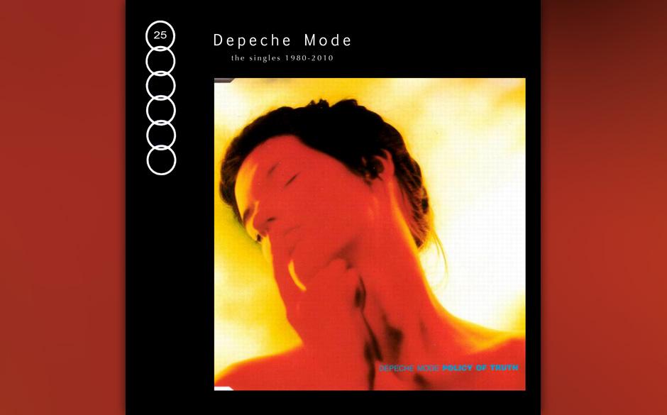 """19. Policy Of Truth. Ein Novum in der Depeche-Mode-Geschichte: Die dritte Single des """"Violator""""-Albums stieg in den USA h"""
