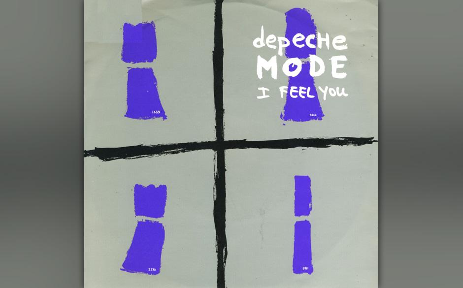 2. I Feel You. Mit Gores Blues-Riff und Gahans schamanenartiger Intonation begann die bis heute anhaltende, dritte Phase der