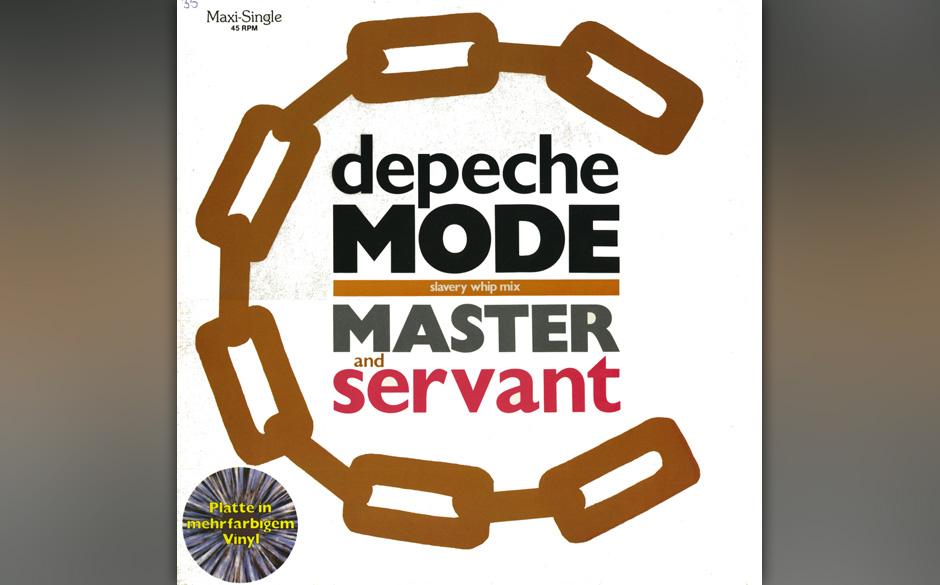14. Master And Servant. Das ist keine Peitsche, die in diesem Sado-Maso-Song auf nackte Haut trifft. Es ist Daniel Miller, Bo