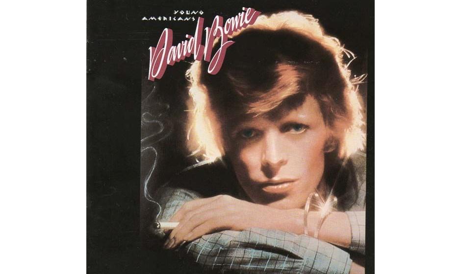24. Young Americans.  Nosferatu of Funk: Ein unheimlicher, gelblich-falber Bowie hatte Blut am Soul geleckt und den amerikani