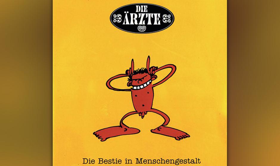49. Die Ärzte: Die Beste in Menschengestalt (1993). Das Comeback der bisherigen Funpunk-Band nach fünf Jahren Abstinenz ger