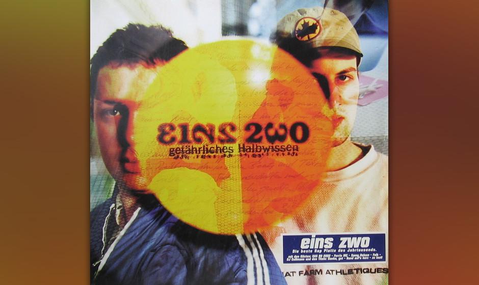 34. Eins Zwo: Gefährliches Halbwissen (1999). Als deutscher HipHop noch ohne Gratis-Koks und Vögelfantasien existierte, gab