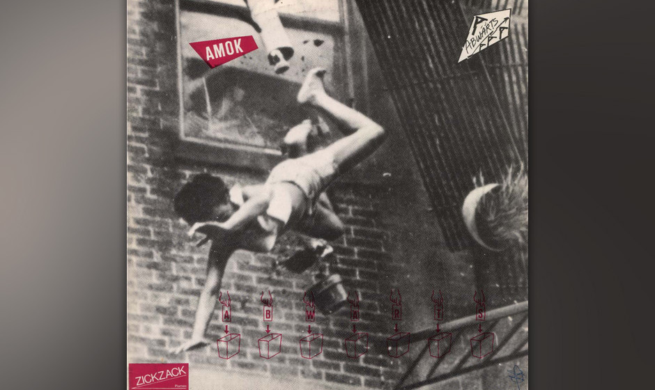 43. Abwärts: AmokKoma (1980). Abwärts spielten die wütende Dringlichkeit des frühen Punk-Rock gegen das zackig-kühle Git