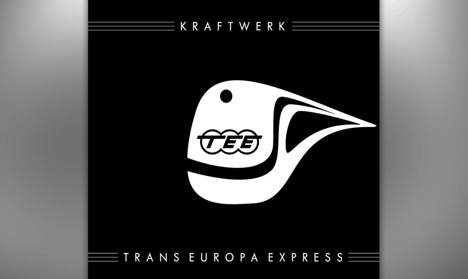 """10. Kraftwerk: Trans Europa Express. Es ist ein verträumter Retro-Futurismus, der dem Album eine ganz eigene Note gibt. """"E"""