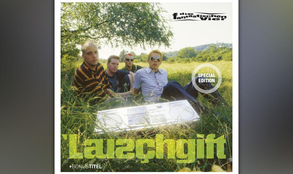 29. Die Fantastischen Vier: Lauschgift (1995). Es war der Moment, in dem die Stuttgarter Mittelstands-Rapper endgültig erwac