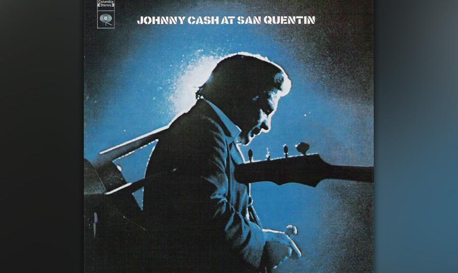 """37. Johnny Cash - At San Quentin (1969)  Ein Jahr nach """"At Folsom Prison"""" spielte Johnny Cash erneut ein Konzert im Gefä"""