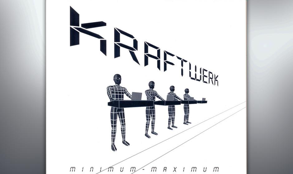 46. Kraftwerk - Minimum Maximum (2005)  Für den kraftvollen Live-Klang setzen Kraftwerk zwar Techno-Rhythmen der 90er-Jahre