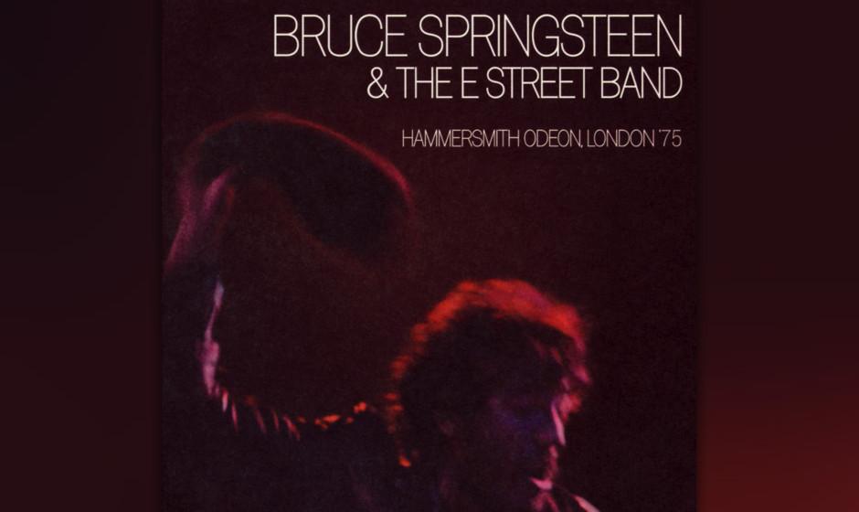 45. Bruce Springsteen & The E Street Band - Hammersmith Odeon, London '75 (2005)  Auf der Londoner Bühne entfaltete Springst