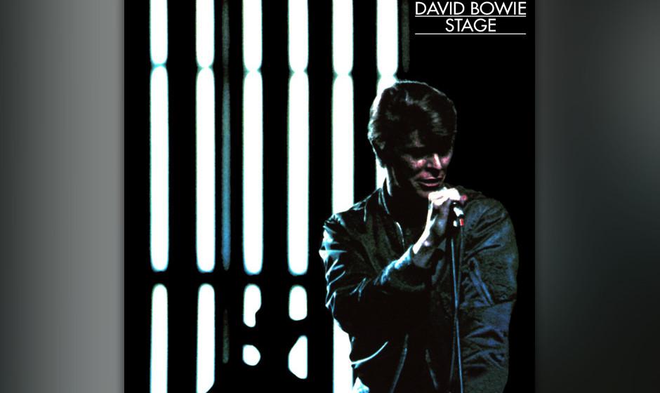 30. David Bowie - Stage (1978)  1978 war Bowie auf dem Gipfel seiner Kunst angekommen. Er schien alle Rock'n'Roll-Metamor