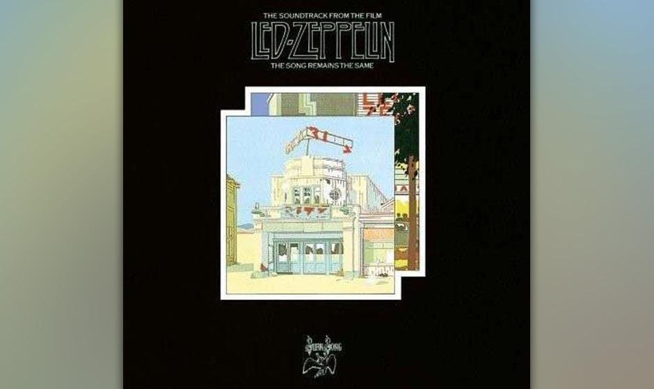 35. Led Zeppelin - The Song Remains The Same (1976)  Die Band auf dem Höhepunkt ihrer Karriere. Mit welch beeindruckenden Sh
