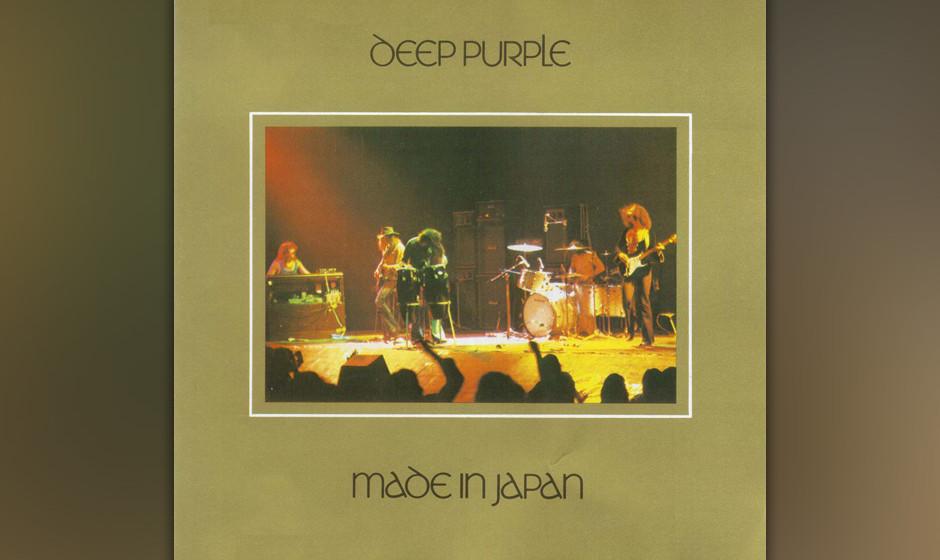 14. Deep Purple - Made In Japan (1972)  Hat sich Ritchie Blackmore bei den vier Akkorden tatsächlich verspielt? Oder ist die