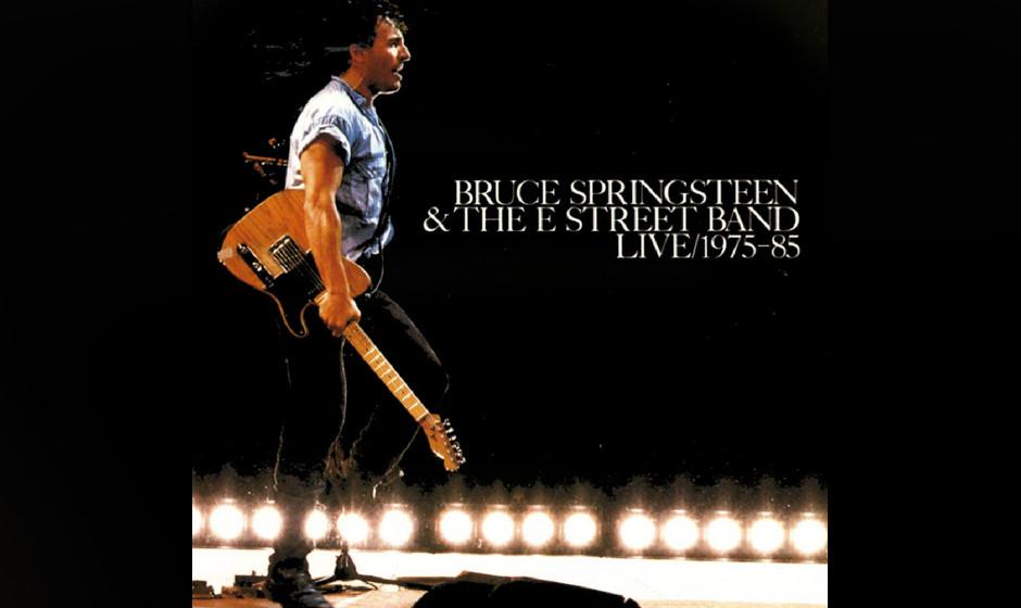 16. Bruce Springsteen - Live/1975-85 (1986)  Die 40 Songs (auf zehn Seiten, wenn man sich für das Vinyl-Boxset entschied!) z
