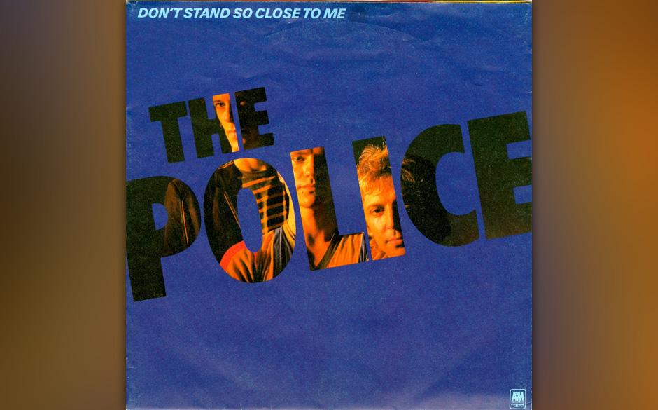 11. The Police: 'Don't Stand So Close To Me' (aus 'Zenyatta Mondatta', 1980). Die Hitsingle mit dem Lolita-Sujet wurde wohl s