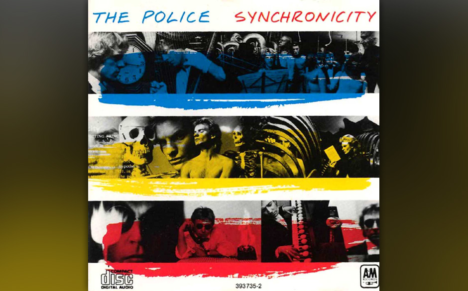 6. The Police: Synchronicity I (aus 'Synchroncity', 1983). Musik wie eine Verfolgungsjagd. Dabei stellt Sting lediglich korre