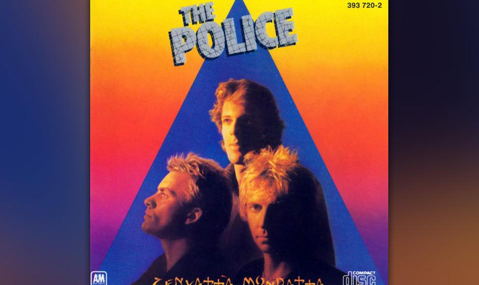 27. The Police: Driven To Tears (aus 'Zenyatta Mondatta, 1980, 'Bring On The Night' 1986). Eines der Stücke von Police, mit
