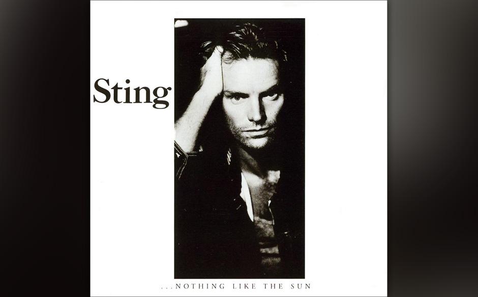 23. Sting: Little Wing (aus 'Nothing Like The Sun', 1987).  Wer Hendrix covert, sollte sich nicht zu sehr auf die Gitarre ver