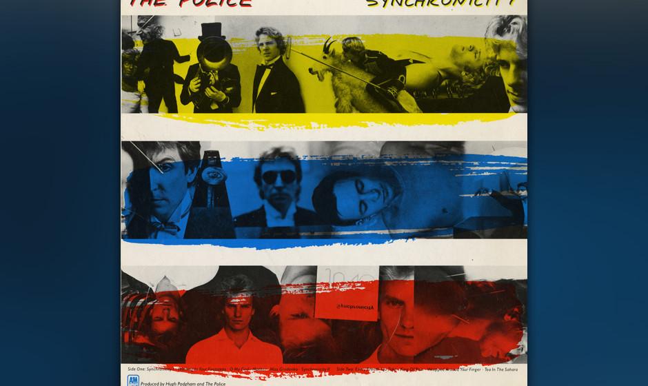 29. The Police: Tea In The Sahara (aus 'Synchronicity', 1983). Der Ausklang von 'Synchronicity', Abschluss einer der besten z