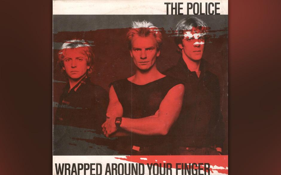 7. The Police: Wrapped Around Your Finger (aus 'Synchronicity', 1983). Der zeitlupenhaft verzögerte Song von 'Synchronicity'